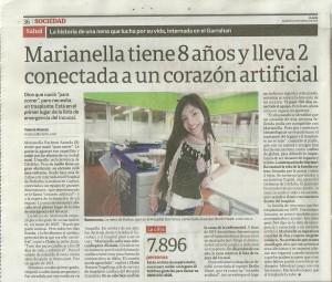 Nota Clarín 22-3-2016
